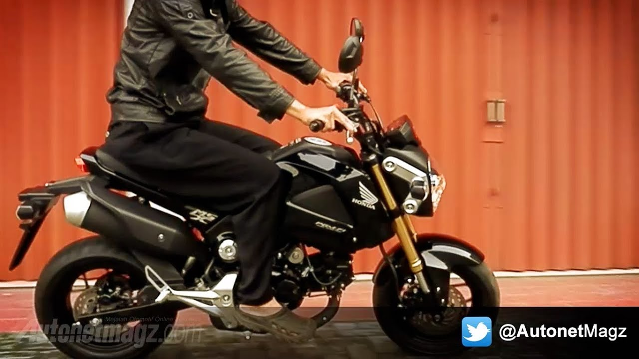 honda msx125 indonesia review amp test ride   youtube