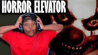 Roblox The Horror Elevator Scariest Jumpscare - RUN AND HIDE
