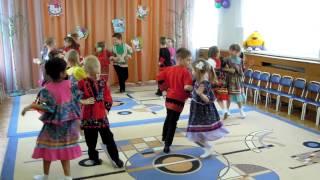 Детский сад 2296 танец Кадриль 2013