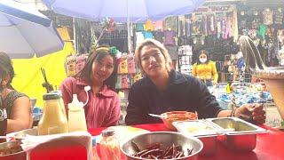 てんちむとメキシコで偶然会ってローカル屋台食べ歩きデートしてみた