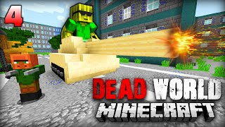 SHOWDOWN in WOODBURY - Minecraft Dead World #4 [Deutsch/HD]