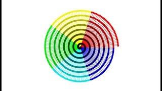 GeoGebra   Spiral   Colourful