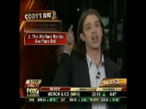 Cody Willard - Fight the Power - The Federal Reserve's Monopoly Control 01-20-09