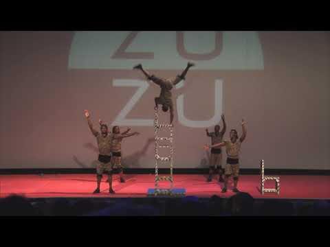 ZUZU African Acrobats at Stone Mountain