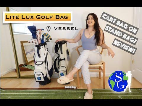 UNBOXING: Vessel Lite Lux | Golf Bag Review 2020