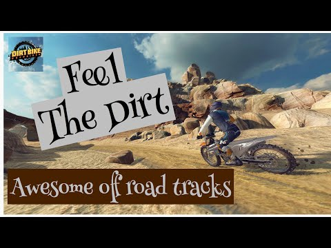 Red - Bull Motocross Game/ Dirt Bike Unchained / Off-road Racing