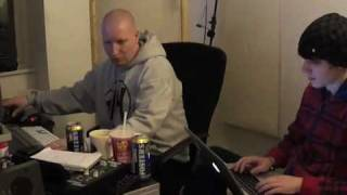 Danny Byrd Rave Digger Video Log 2. NETSKY AND BYRD IN THE STUDIO