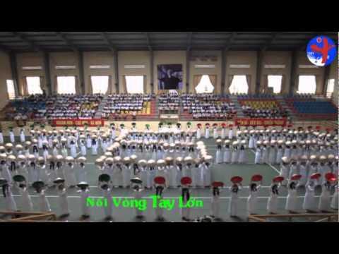 Đồng diễn Hội Khỏe Phù Đổng - Nối Vòng Tay Lớn