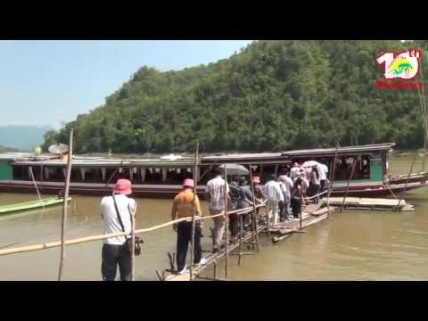 ล่องเรือชมถ้ำติ่ง - ทัวร์หลวงพระบาง 2/7 (HD)