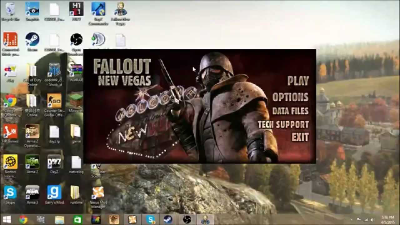 How To Fix Fallout New Vegas Error Unknown Error Creating The