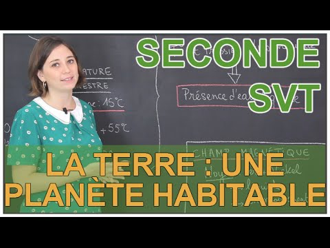 La Terre : une planète habitable - SVT Seconde - Les Bons Profs