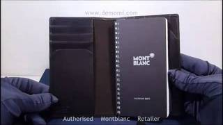 MB 101763 montblanc diary&notes vertical diary review