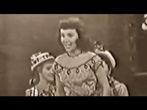 Teresa Brewer sings and dances Music Music Music on Ed Sullivan 1950
