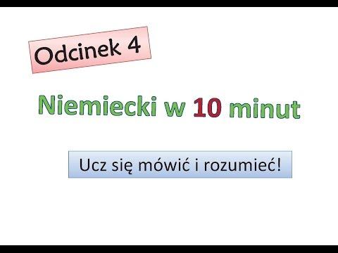 Odcinek 4 - Niemiecki w 10 minut - Niemiecki dla początkujących