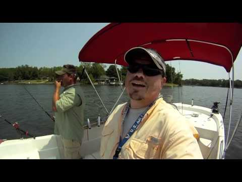 Lake Wateree Fishing June 2011