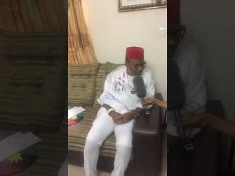 Nnamdi kanu's exclusive interview with Sahara Reporters