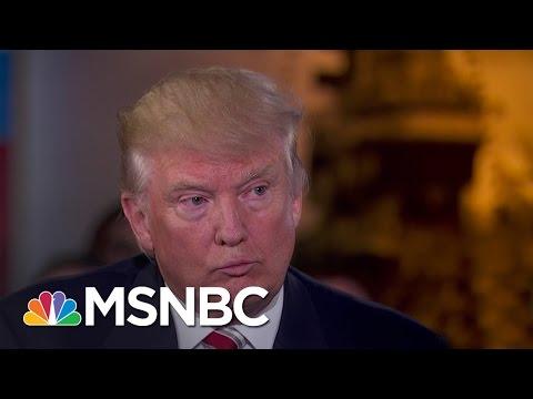 Donald Trump Takes Vladimir Putin's Compliment | MSNBC