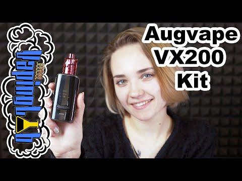Augvape VX200 Kit. Набор с одноразовыми клиромайзерами
