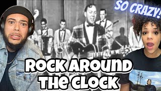*ROCK STARTED HERE?* FIRST TIME HEARING Billy Haley & His Comets - ROCK AROUND THE CLOCK REACTION
