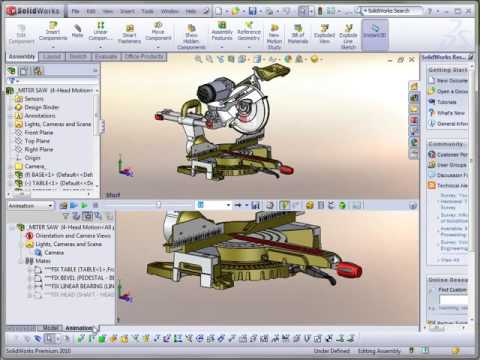 SOLIDWORKS Motion Manager