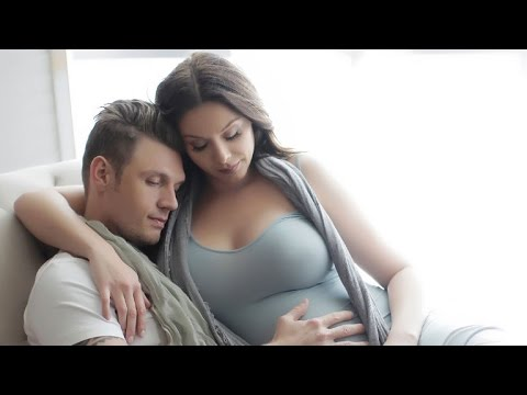 EXCLUSIVE: Nick Carter and Wife Lauren Reveal Maternity Pics!