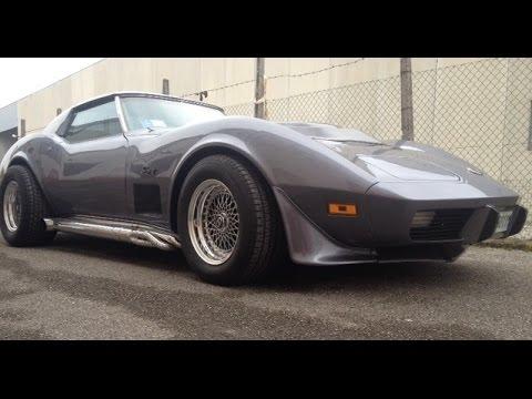 corvette 75 swap vortec 350