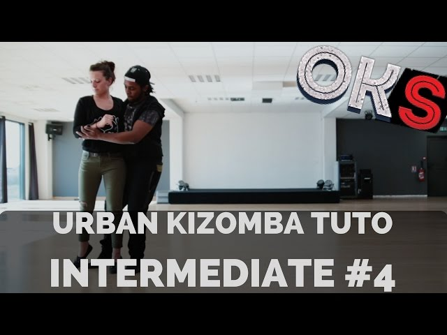 Urban Kizomba Tutorial - Intermediate Move #UI4 🎓 OKS 🎓