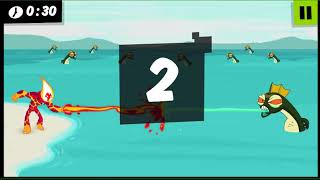 Ben 10 Heatblast Fight Game Play
