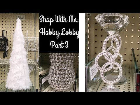 SHOP WITH ME AT HOBBY LOBBY PART 3-FALL & CHRISTMAS- CUTE ACRYLIC DEERS