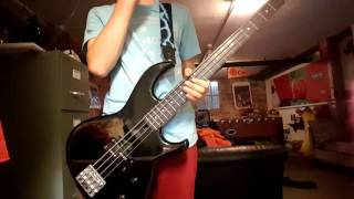 Bass cover of weezer's song island in the sun.