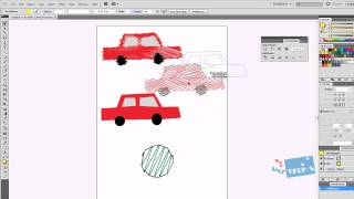 Adobe Illustrator How To - Scribble Effect