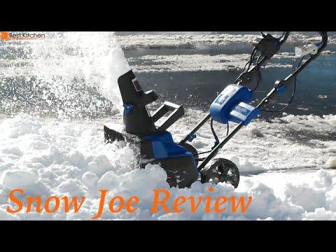 Snow Joe Ion 40 Volt Cordless Electric Hybrid Er Review Ion18sb Hyb