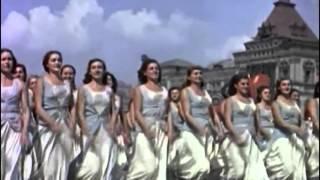 """Первомайский парад с И.В.Сталиным, 1937 год, """"Москва майская"""""""