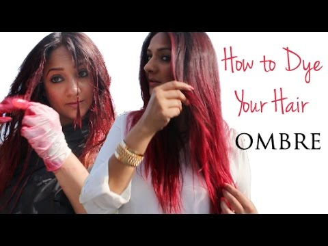How to Dye your Hair Ombre - YouTube