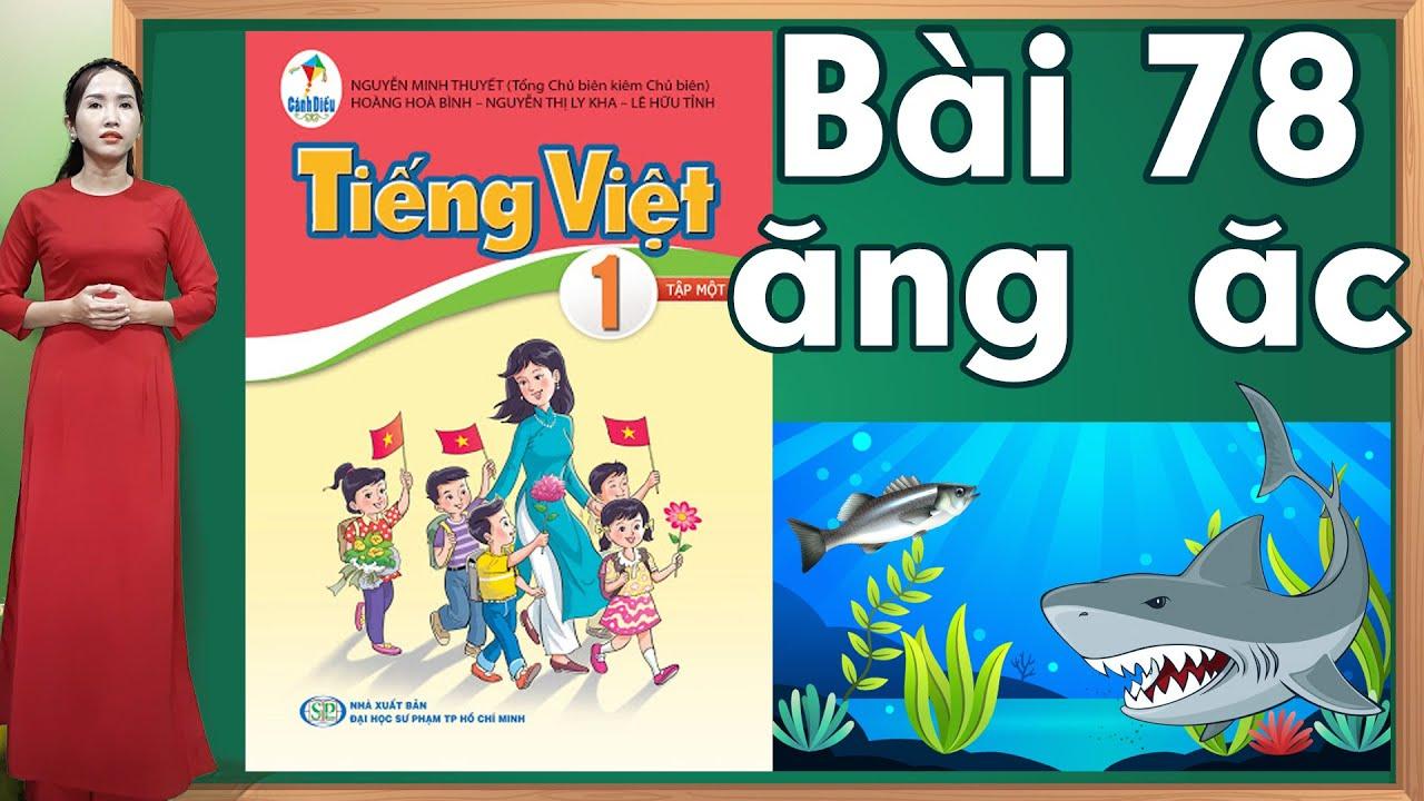 Tiếng việt lớp 1 sách cánh diều - Bài 78|Bảng chữ cái tiếng việt |learn vietnamese