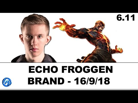 Echo Fox Froggen - Brand support - NA Ranked
