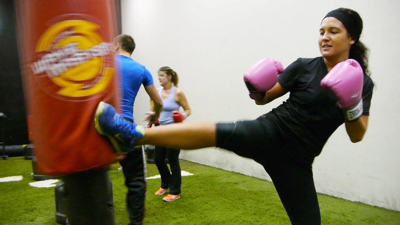 INTENSE Kickboxing Exercise Class