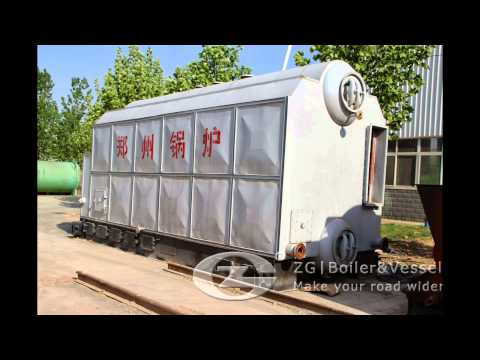 Steam boiler for poultry feed