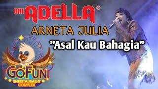 Asal Kau Bahagia - Arneta Julia - Om Adella Live Go Fun Bojonegoro Cover Kendang