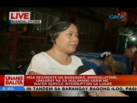 Mga residente ng Barangka, Mandaluyong, umaaray na sa ikalimang araw ng water interruption sa lugar