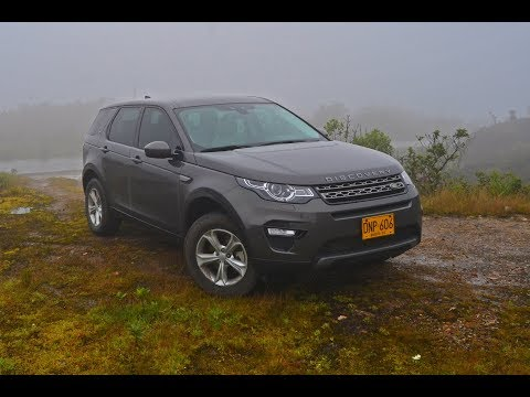 Prueba Land Rover Discovery Sport - Colombia