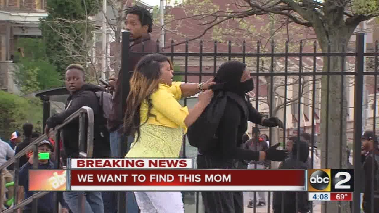 Story behind the video: Mom beats son for throwing rocks ...