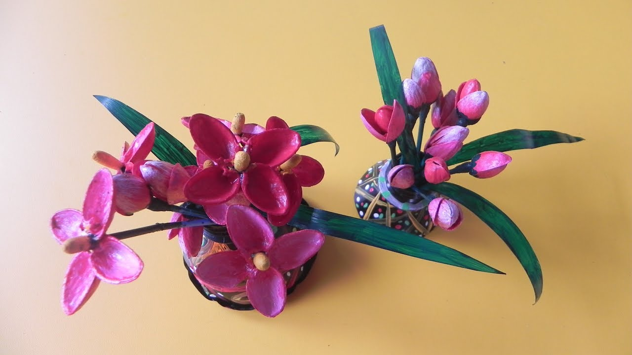 Flowers From Pistachio Shells How To
