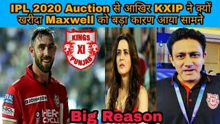IPL 2020 Auction से आखिर KXIP ने क्यों खरीदा Maxwell को बड़ा कारण आया सामने