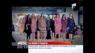 rochii crosetate manual unicat cristina matei