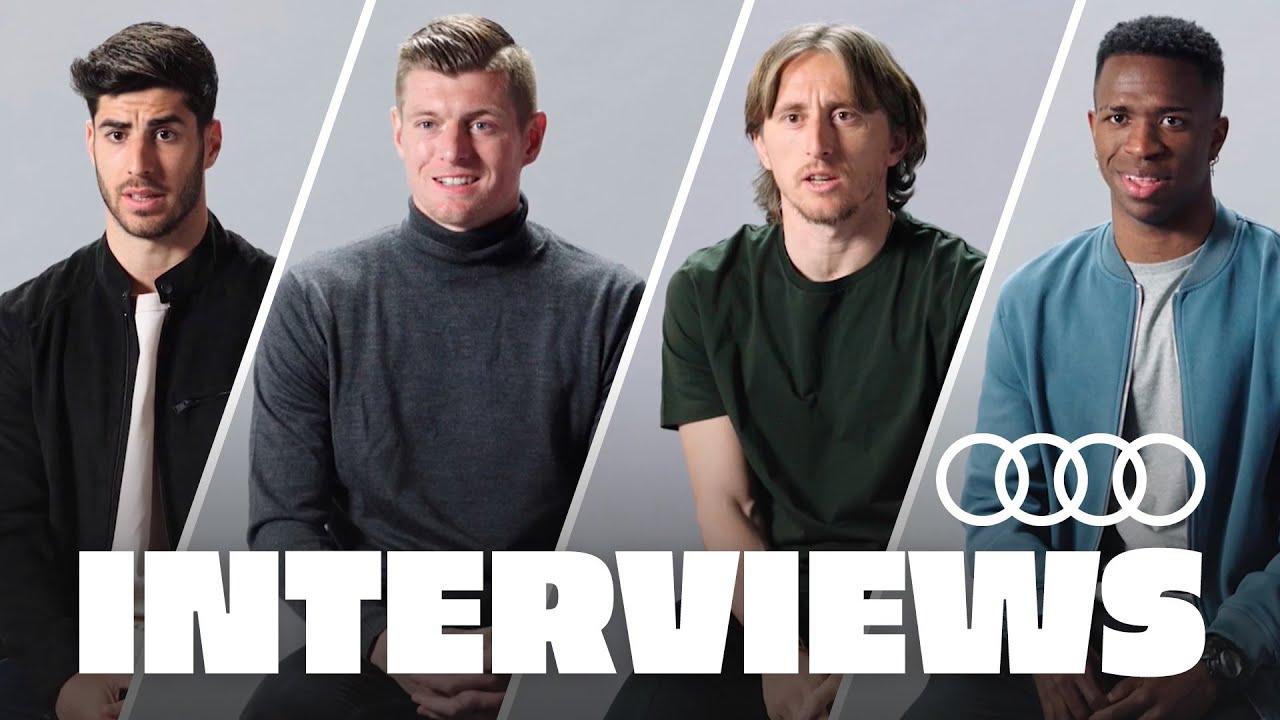 Kroos, Asensio, Modrić & Vini Jr.   Real Madrid & the future!