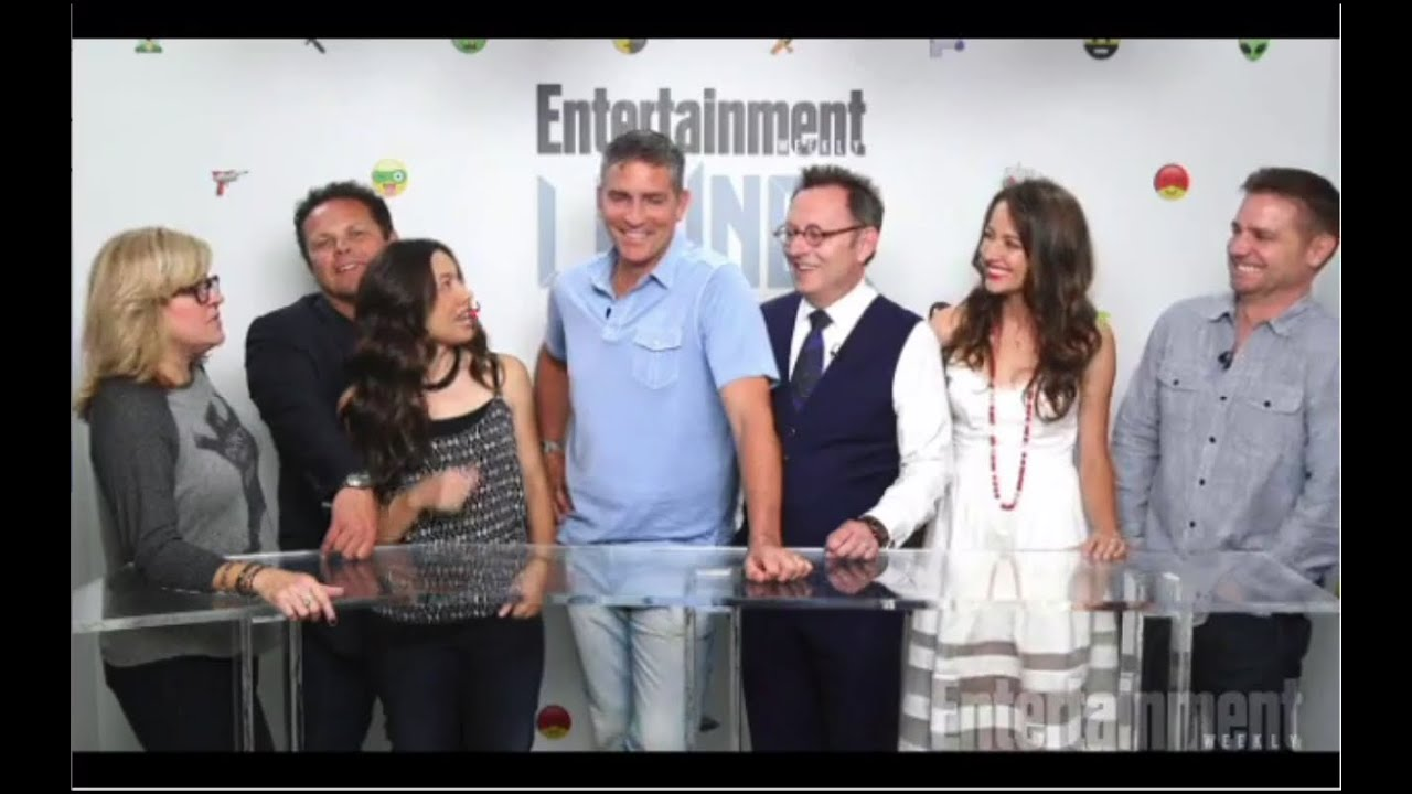 SDCC 2015 - Person Of Interest Cast Press Interview