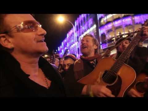 Bono singing