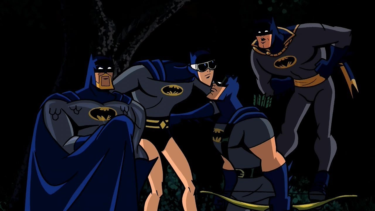 Four Batman! - YouTube