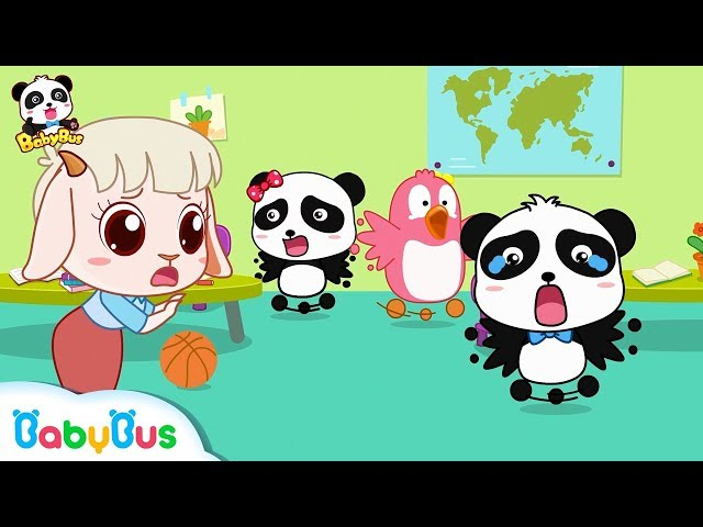 Earthquake Happens in Baby Panda's Kindergarten | Kids Safety Tips Collection | BabyBus